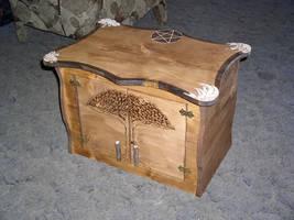 Custom altar cabinet by 2amaltars
