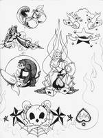 Tattoo flash by uglyguy