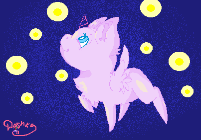 Mlp Base Chibi Fireflies! by DashkaTortik12222222
