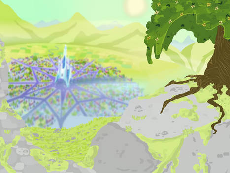 Mlp .:Crystal empire:. background