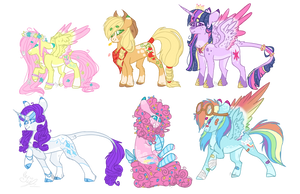 Mlp Mane 6 New by DashkaTortik12222222