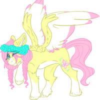 Mlp Fluttershy redesign by DashkaTortik12222222