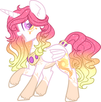 Mlp Princess Celestia Redesign by DashkaTortik12222222