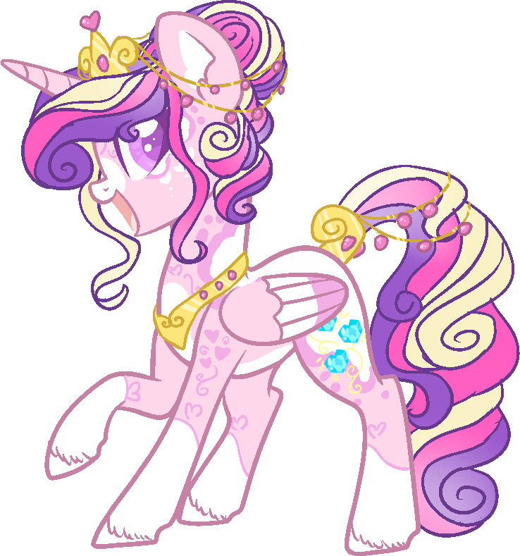 Mlp Princess Cadance Redesign by DashkaTortik12222222