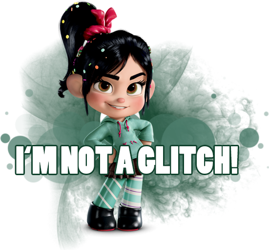 wreck it ralph vanellope im not a glitch png by