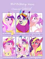 MLP DEsign Meme - Princess Cadance