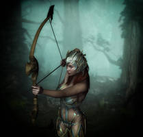 The Archer by x-bossie-boots-x