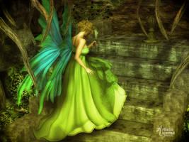 Fairy Queen (Wolfie) by x-bossie-boots-x