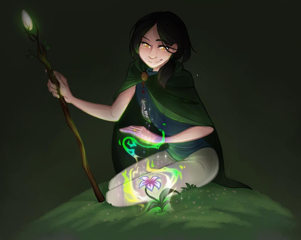 Little Druid by Arianwen44