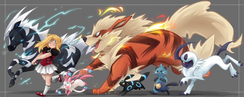 Ari's Team by Arianwen44