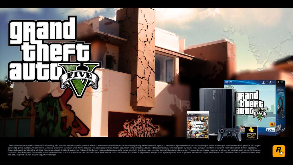 PS3 GTA V Bundle by Kopavnick