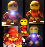Custom Iron Man Mighty Muggs