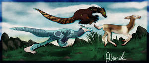 Hunting == Aura and Ira == by Alriandi