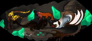 Jade caves - Excavating 2 -