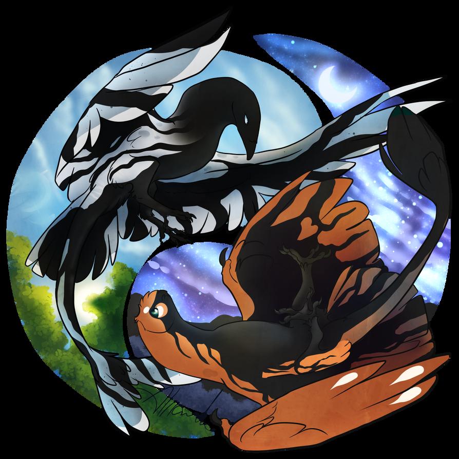 Shadow Pair Ying Yang