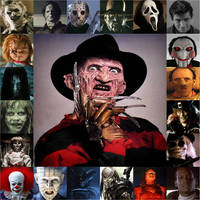 Horror Movie villains by xxphilipshow547xx