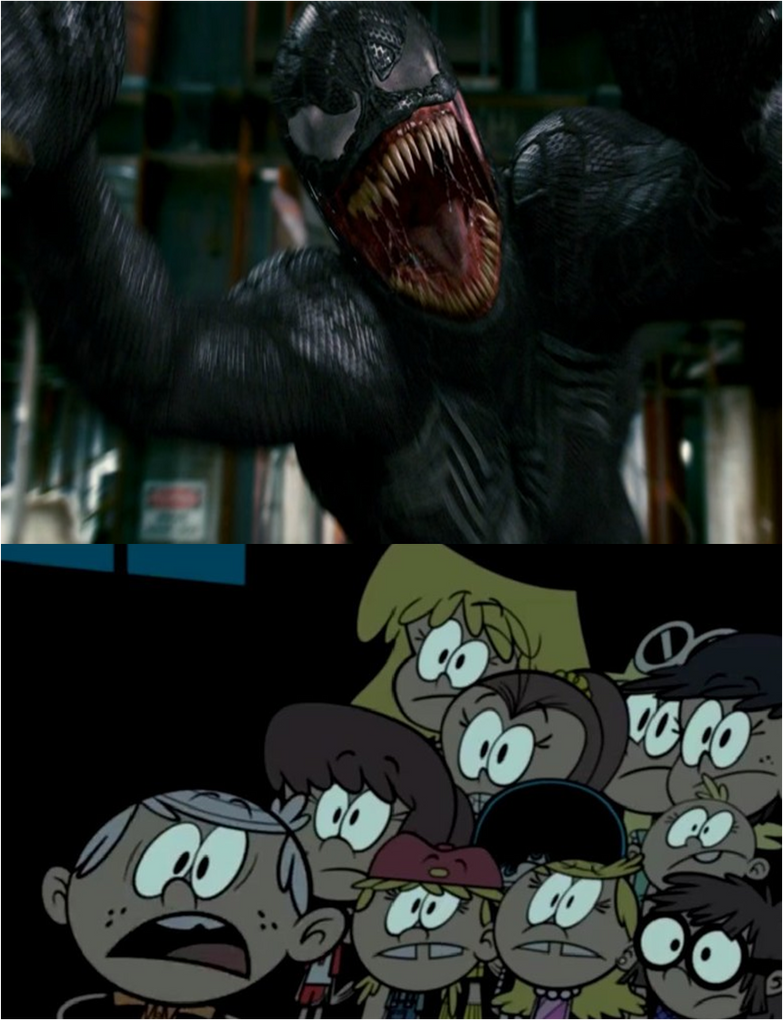Loud Siblings Scared Venom by xxphilipshow547xx
