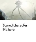 Tripod Scared Who - blank meme