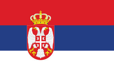 Flag Of Serbia by xxphilipshow547xx