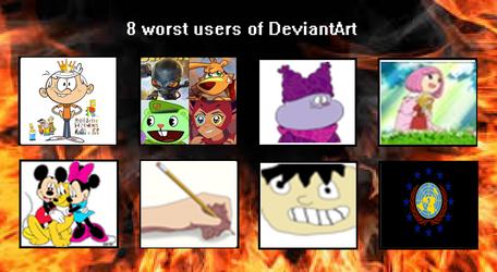 Top 8 Worst DeviantArt Users