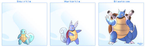 Squirtle Line by Arylett-Charnoa