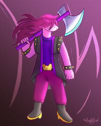(Deltarune) Susie by Arylett-Charnoa