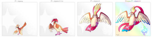 Pidgey Line by Arylett-Charnoa