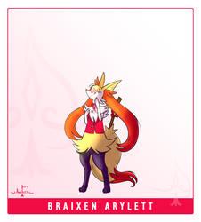 Braixen Arylett