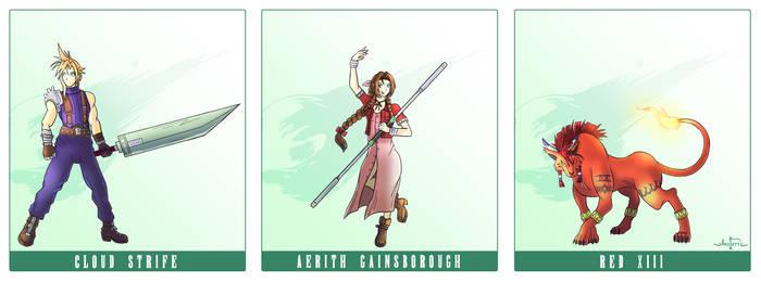 Final Fantasy 7 Party