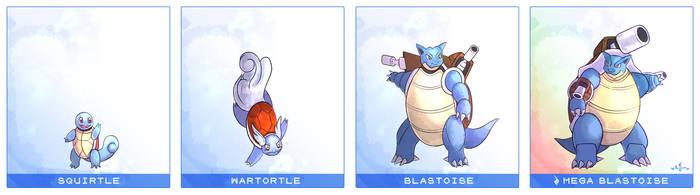 Pokemon Line #3 - Squirtle Line