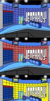 Jeopardy set - DTC Style
