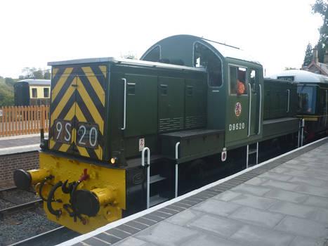 D 9520 at Arley