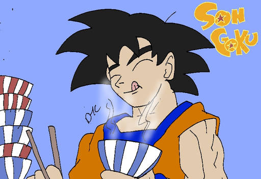 Goku's Lunch Break