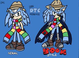 Dan ''DTC'' Hedgehog - Normal and Boom Style