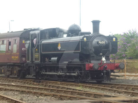 9600 at Tyseley Loco Works