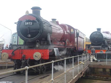 Hogwarts Express at Tyseley Loco Works