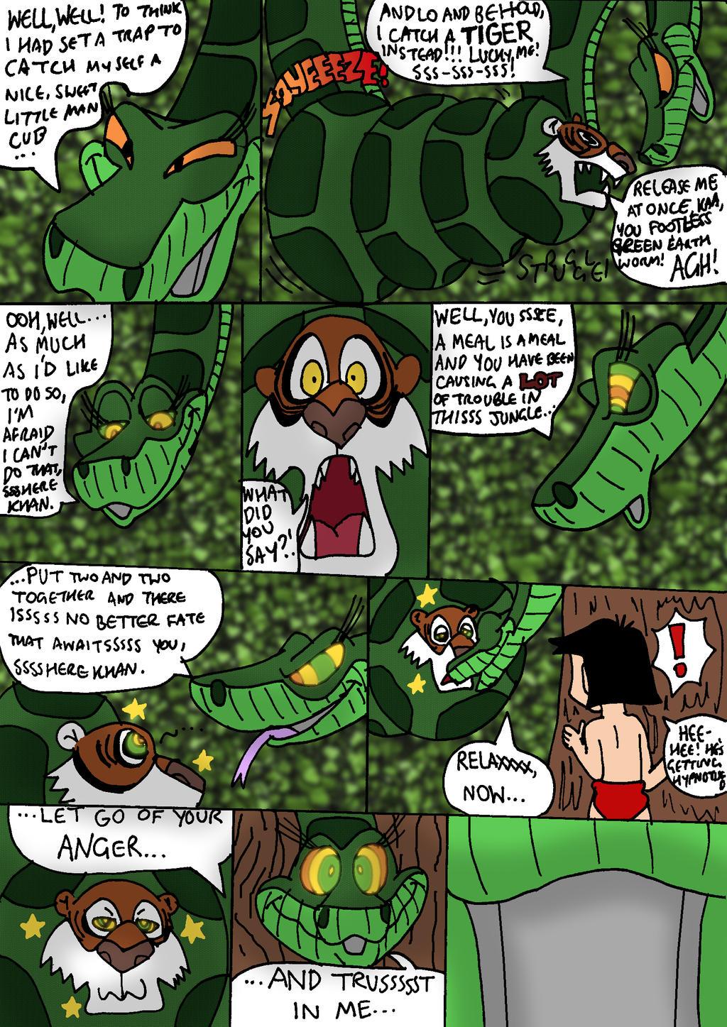 Shere Khan...KAA-ptured! Comic: Part 3/6 by Dan-the ...