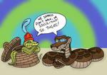 Snakes Don't Walk