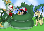 WHAT IF - Ash's Serperior