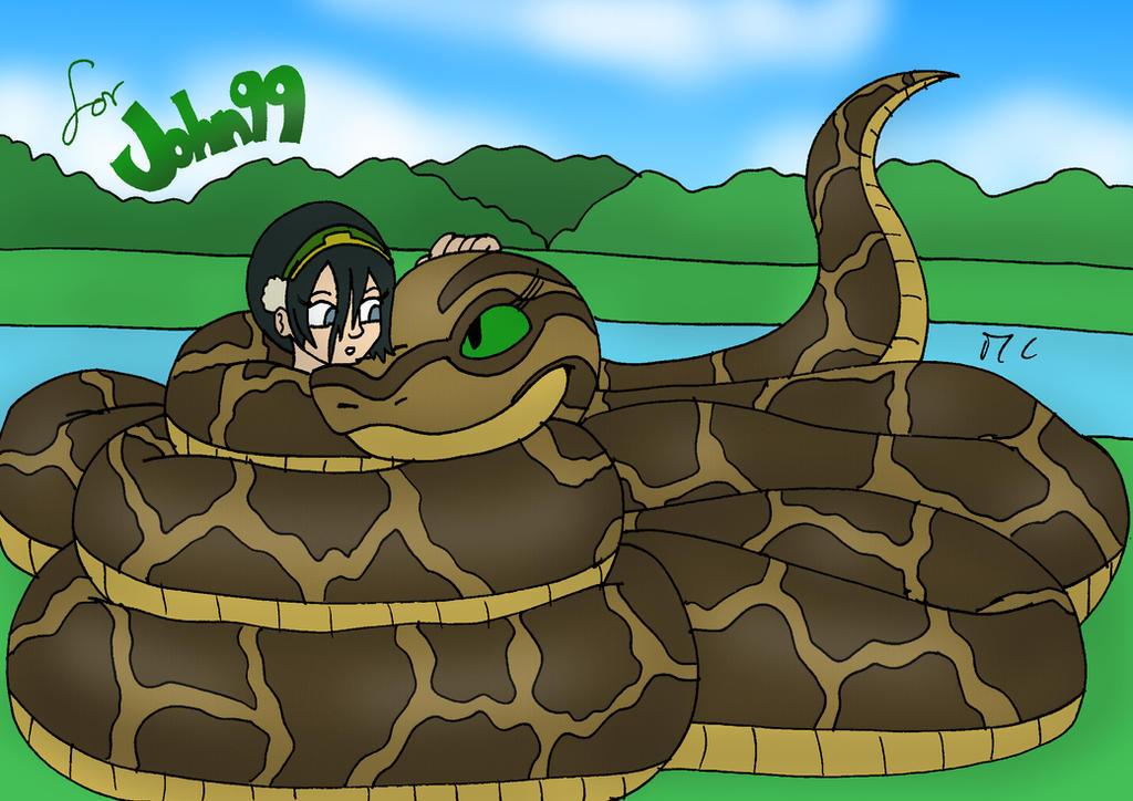 Pubg Fanart By Rei Kaa On Deviantart: Kaa Hugs Toph By Dan-the-Countdowner On DeviantArt