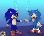 Two Paramount Sonics