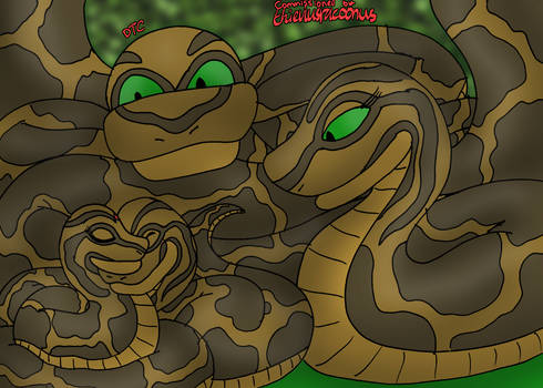 COMMISSION - Shanti Joins the Kaa Family