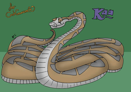 Kaa in the Vision of CmdrGamera40