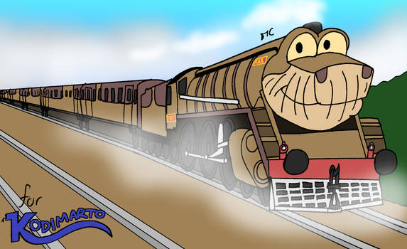 WHAT IF: Kaa as a Steam Locomotive