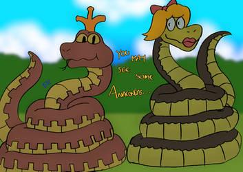You May See Some Anacondas