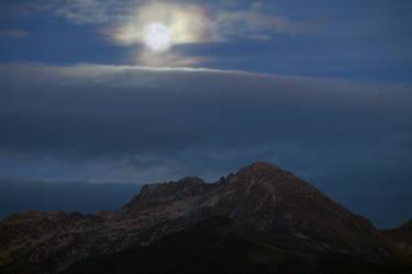 Alpine Dusk by organicvision