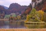 Autumn on a Swiss Lake by organicvision