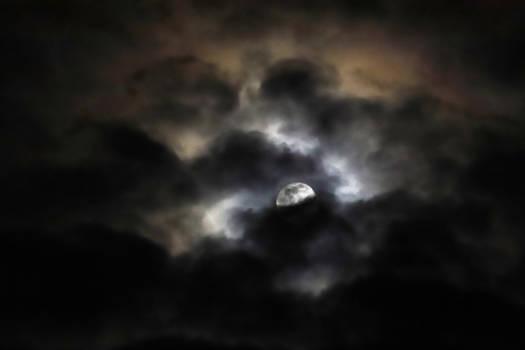 Eclipsed in Clouds