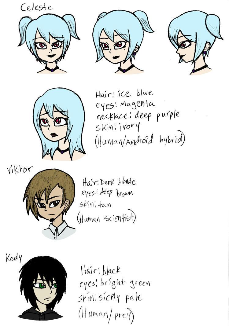 SHOCK Characters by Reitanna-Seishin