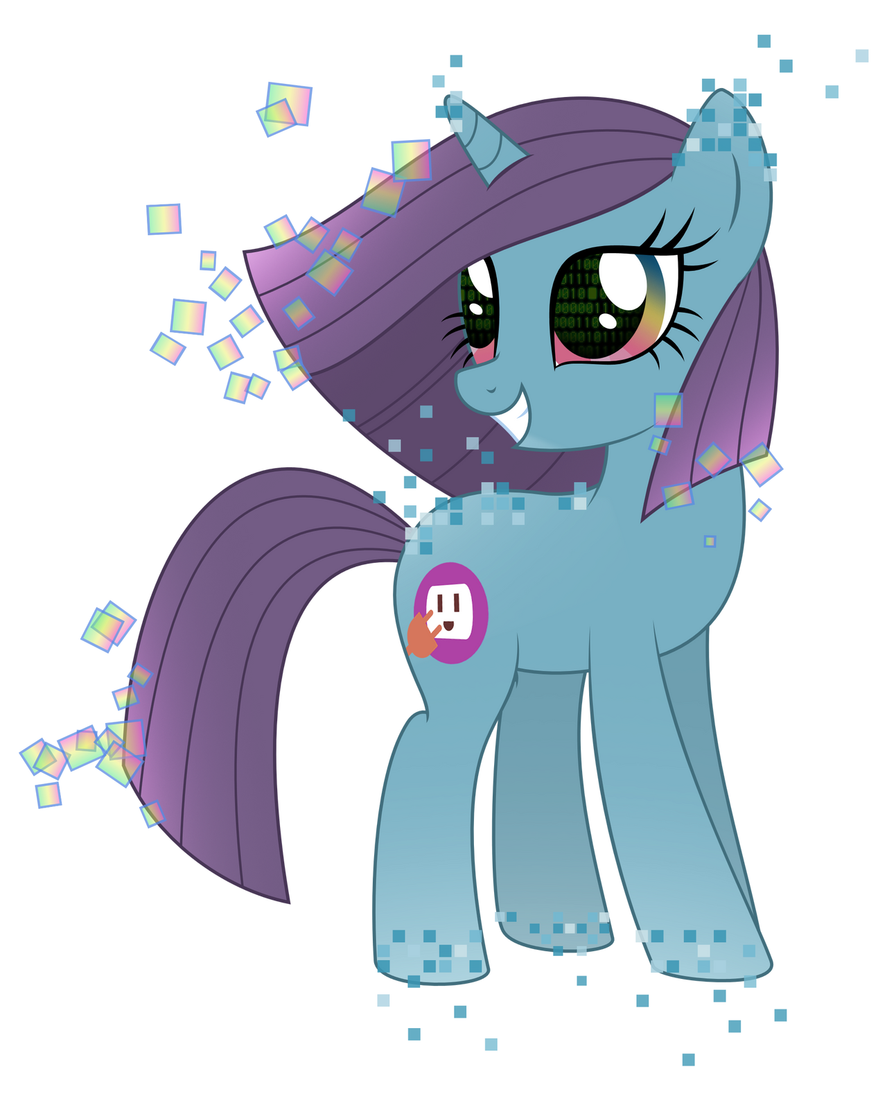 Elemental Pony Digital By Reitanna Seishin On Deviantart